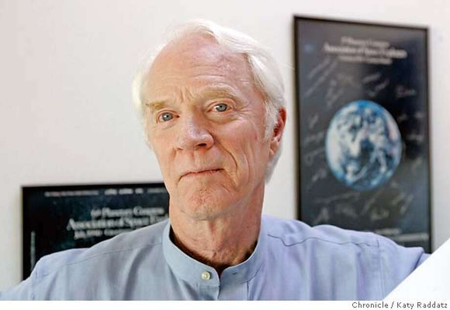 Rusty Schweickart, chairman of the B612 Foundation, which is trying to build an asteroid defense system. Chronicle photo by Katy Raddatz