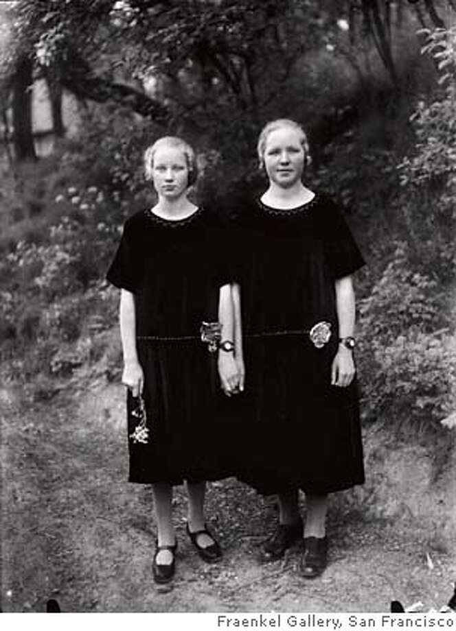 """Farm Girls"" (c. 1928) gelatin-silver print by August Sander. Credit: Courtesy of Fraenkel Gallery, San Francisco Photo: Courtesy Of Fraenkel Gallery, Sa"