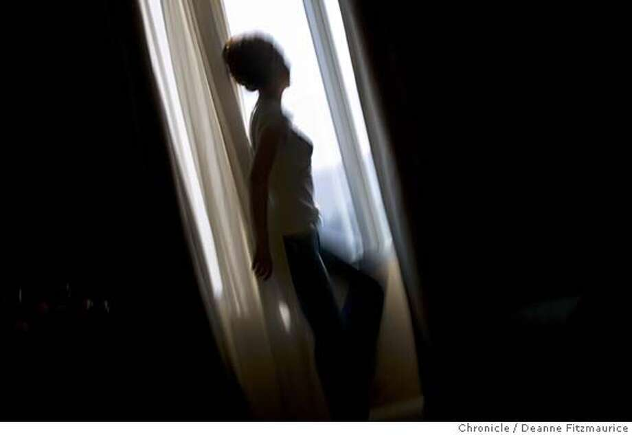 Yuki, a sex trafficking victim, escaped from a brothel in Inglewood and spends most of her time hiding indoors in South Korea. Chronicle photo by Deanne FitzmauriceSend comments on this series to Chronicle photographer Deanne  Fitzmaurice at dfitzmaurice@sfchronicle.com
