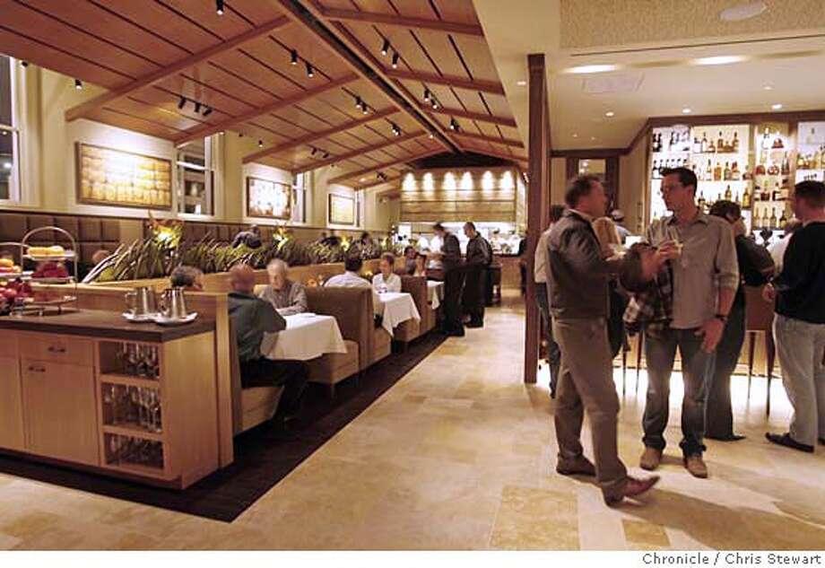 Lark Creek Steak blends steakhouse dining, California cuisine. Chronicle photo by Chris Stewart