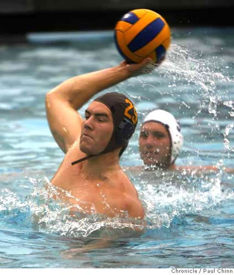 Cal's John Mann has scored 39 goals this year -- ranking second in the country at 2.8 goals per game -- and 177 for his career. Chronicle photo by Paul Chinn