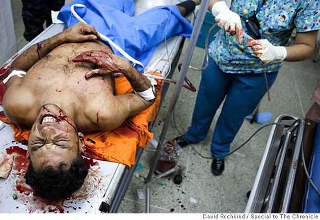 Caracas Hospital Emergency Room Gunshot