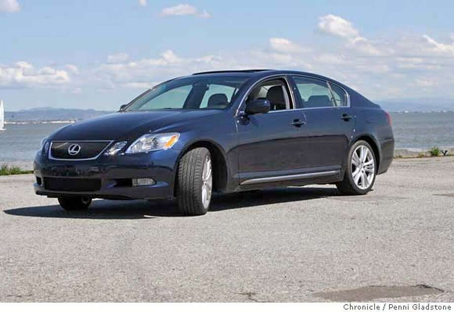 2007 Lexus GS450h. Chronicle photo by Penni Gladstone
