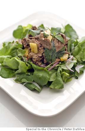 Top Recipe 1999: Vietnamese Shaking Beef Salad