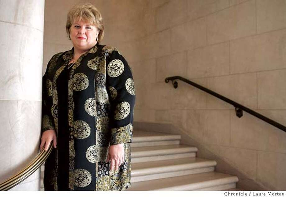 Opera singer Christine Brewer will be performing the part of Isolde in the San Francisco Opera's production of Tristan and Isolde. MANDATORY CREDIT FOR PHOTOGRAPHER AND SAN FRANCISCO CHRONICLE/ -MAGS OUT Photo: Laura Morton