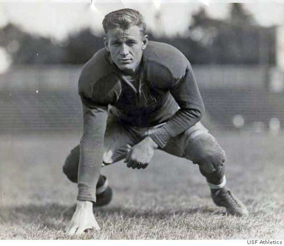 Alex Schwarz, USF football, 1930's. Credit: USF Athletics Photo: USF Athletics