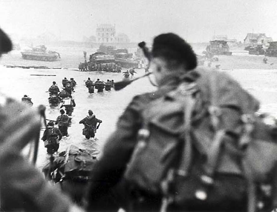 """Overlord,"" which combines newsreel footage and fictional scenes about d-day invasion� Photo: Janus Films"