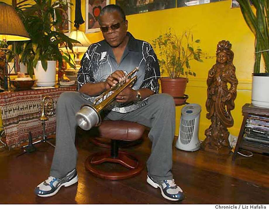 JA_GALE_007.JPG San Jose's Ambassador of Jazz and Jefferson award winner, Eddie Gale, helps bring jazz to children in the educational system.  . Liz Hafalia/The Chronicle MANDATORY CREDIT FOR PHOTOGRAPHER AND SAN FRANCISCO CHRONICLE/ -MAGS OUT Photo: Liz Hafalia