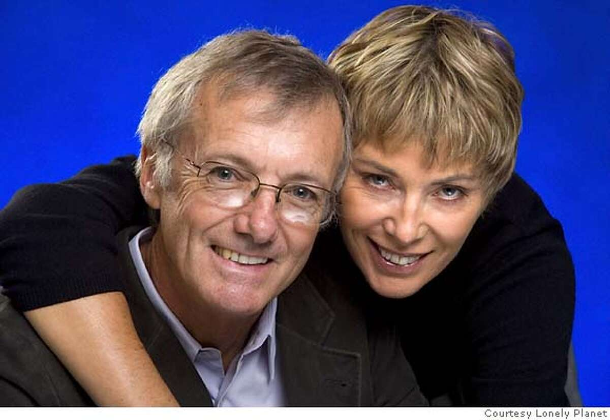 Portrait of Tony and Maureen Wheeler, founders of LONELY PLANET; provided by Lonely Planet for Sunday MAGAZINE, 10-01-06 to accompany piece on Lonely Planet
