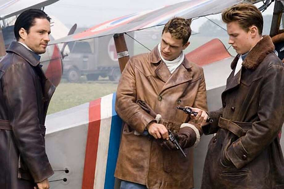 Flyboys (2006):Farm boy Blaine Rawlings and his fellow soldiers become the world's first fighter pilots when they join the Lafayette Escadrille, a squadron of Americans who are volunteering for the French military at the dawn of World War I.James Franco, Martin Henderson, David Ellison, Jennifer Decker, Jean Reno, Tyler Labine, Abdul SalisAvailable: March 1