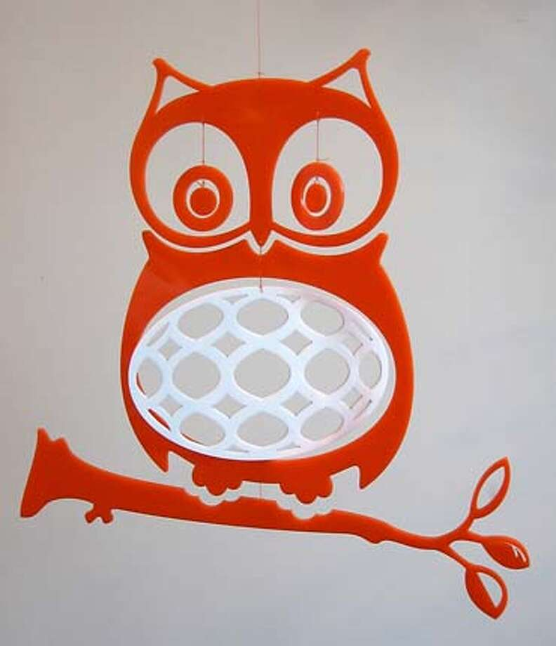 Wise Ol' Owl mobile by Ige Design, about $55