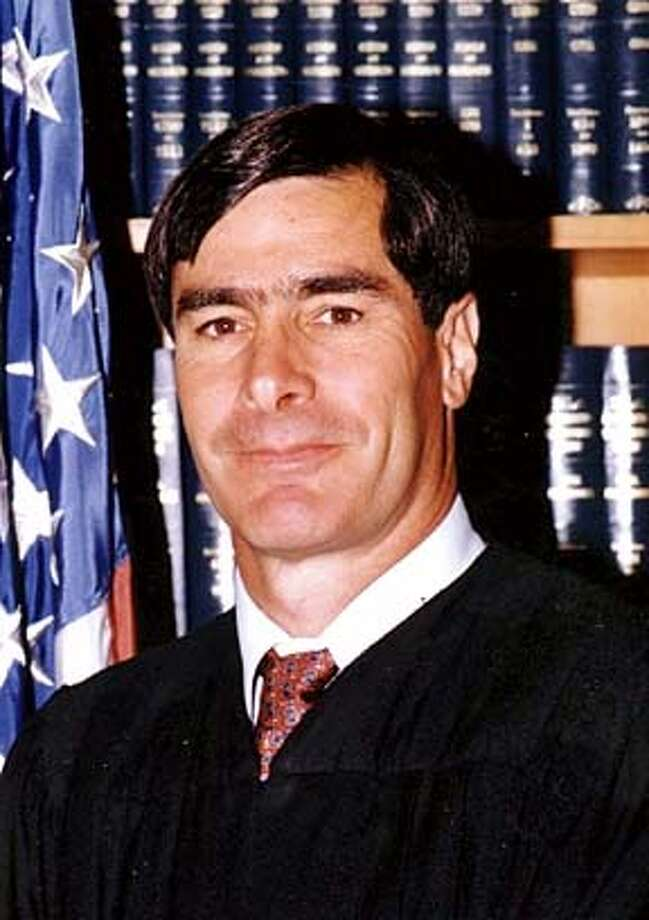 U.S. District Judge Jeremy Fogel is shown in an undated handout photo. Fogel warned that he may postpone California's chaotic Oct. 7 recall election over voting rights questions, and ordered one county to refrain from mailing out overseas ballots until the questions are resolved. The new uncertainty came Friday, Aug. 15, 2003, as a poll showed support building for the ouster of Gov. Gray Davis, and when a billionaire adviser to candidate Arnold Schwarzenegger was widely rebuked for suggesting California property taxes are too low. (handout)  ALSO RAN 8/30/2003 09/06/03, 04/22/04 CAT w/SUITS Photo: Handout