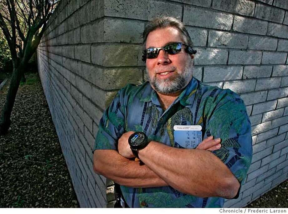 {object name} Apple Computer Inc. turns 30 on April 1 the Chronicle interviews Apple co-founder Steve Wozniak. There will be a package of stories that will run sometime in March. The interview will also be recorded for a podcast. The meeting was at Hickory Pit restaurant in Campbell.  2/15/06  Frederic Larson Photo: Frederic Larson