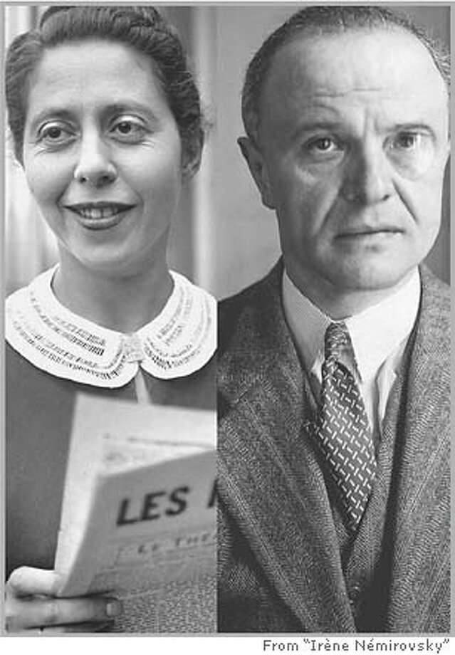 Ir�ne N�mirovsky, author of �Suite Fran�aise,� perished at Auschwitz; Louis Darquier was the Vichy commissioner of Jewish affairs (1942-44).