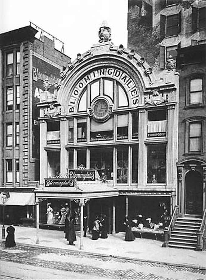 Bloomingdale's 59th Street store in New York in the late 1800s. Photo: Courtesy Of Bloomingdale's