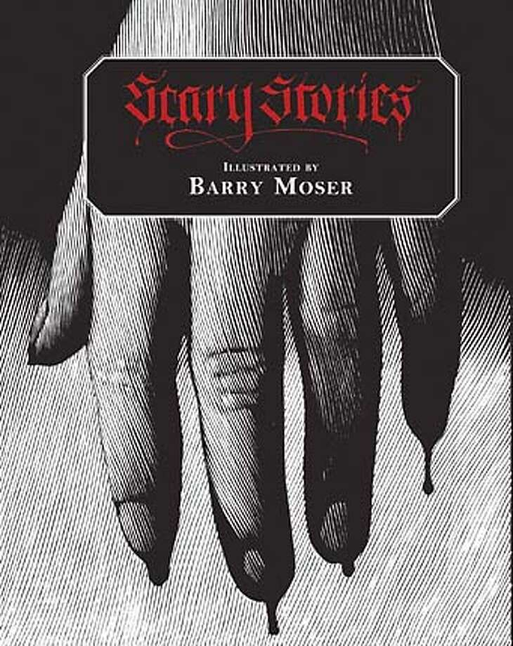 Scary Stories cover art Photo: Barry Moser