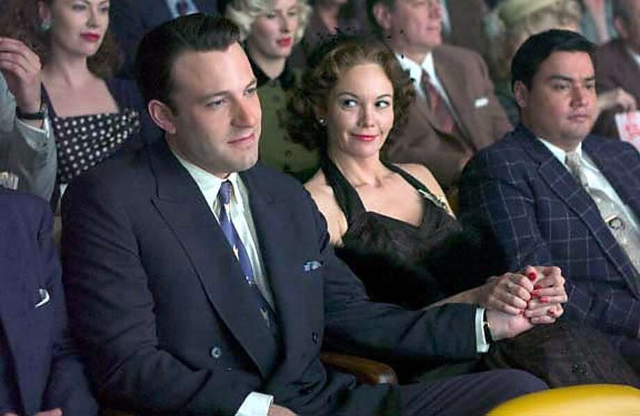 DF-00386 - Ben Affleck (left) and Diane Lane (right) star in Allen Coulter's HOLLYWOODLAND, a Focus Features release. Photo by George Kraychyk. Ran on: 09-08-2006  Ben Affleck and Diane Lane in the drama &quo;Hollywoodland.&quo;  Ran on: 09-08-2006 Ran on: 09-24-2006  Ben Affleck with Diane Lane in &quo;Hollywoodland.&quo; Affleck is attracting attention for something other than his personal life. Photo: HO