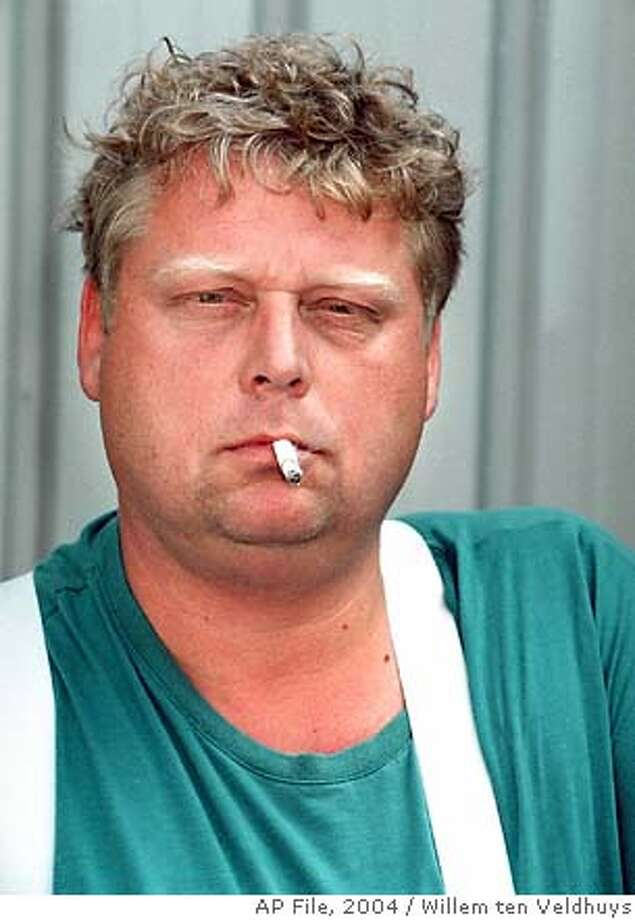 ** FILE ** Theo van Gogh is shown in this August 2001 filer. Van Gogh, a Dutch filmmaker who had made a film critical of some elements of Islamic culture has been shot dead in Amsterdam, Tuesday, Nov. 2, 2004. (AP Photos/ Willem ten Veldhuys/ Dijkstra b.v.) Ran on: 11-04-2004  Theo van Gogh's latest movie criticized the treatment of women under Islam. Ran on: 11-06-2004  Filmmaker Theo van Gogh made a film critical of the treatment of women in Islamic culture. ALSO Ran on: 01-15-2006  Slain in the Netherlands: filmmaker Theo van Gogh, left, populist politician Pim Fortuyn, right. Ran on: 08-20-2006  Protesters march in Paris to demonstrate against an immigration bill nearly 10 years ago. Such concerns have been common in Europe.  Ran on: 09-24-2006  Theo van Gogh, left, a Dutch filmmaker who had made a film critical of Islam, was killed by Muslim fundamentalist Mohammed Bouyeri, right. Photo: WILLEM TEN VELDHUYS