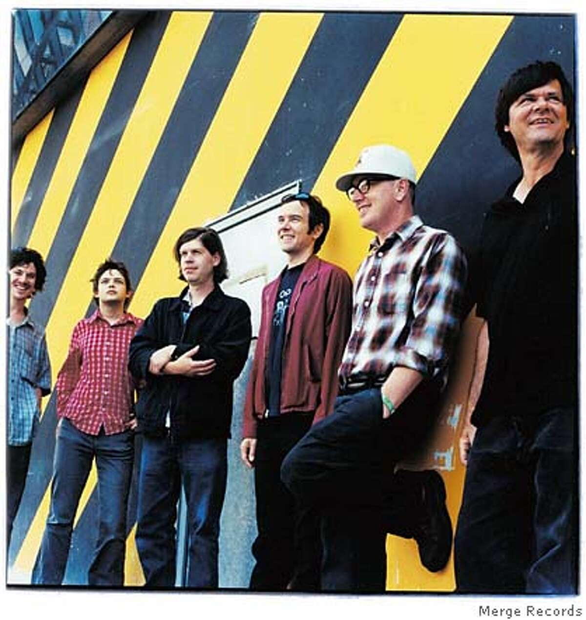Handout art of the band Lambchop. They have a new album out called Damaged