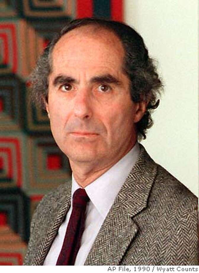 KIPEN10-C-09JAN01-DD-AP--Author Philip Roth is shown in this July 1990 photo. In 1960, a 27-year-old Roth won the National Book Award for his first book, ``Goodbye, Columbus,'' beating out three renowned, older novelists: Saul Bellow, William Faulkner and Louis Auchincloss. On Thursday, Oct. 19, 1995, Roth, now a literary lion himself, was nominated for the 1995 National Book Award for his 21st book, ``Sabbath's Theater.'' (AP Photo/Wyatt Counts)  BY Photo: X