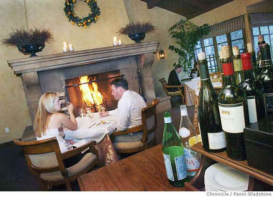 TRAVEL_CARMELVALLEY  Diningroom at Marinus restaurant in the Bernardus Lodge. Event on 9/13/06 in Carmel Valley.  Penni Gladstone / The Chronicle Event on 9/14/06 in Carmel Valley.  Penni Gladstone / The Chronicle MANDATORY CREDIT FOR PHOTOG AND SF CHRONICLE/ -MAGS OUT Photo: Penni Gladstone