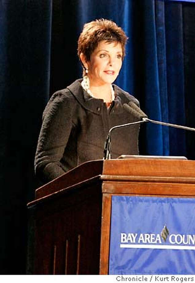 Bay Area Council hosts dinner and inducts new members to Bay Area Business Hall of Fame. One of them is HP Chairwoman Patricia Dunn.  KURT ROGERS/THE CHRONICLE SAN FRANCISCO THE CHRONICLE  SFC HP20_0058_kr.jpg MANDATORY CREDIT FOR PHOTOG AND SF CHRONICLE / -MAGS OUT Photo: KURT ROGERS/THE CHRONICLE