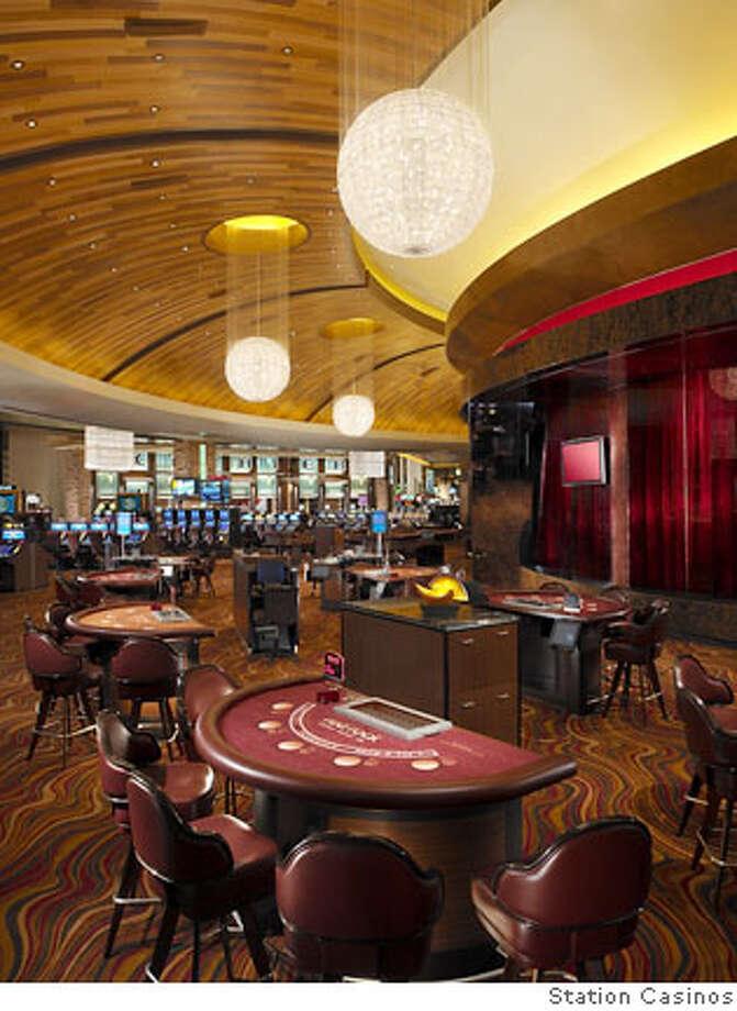 Casino Main Arch Chnld 002Slug: gaming21  Caption: Red Rock Casino Resort & Spa  Credit: Station Casinos Photo: Station Casinos