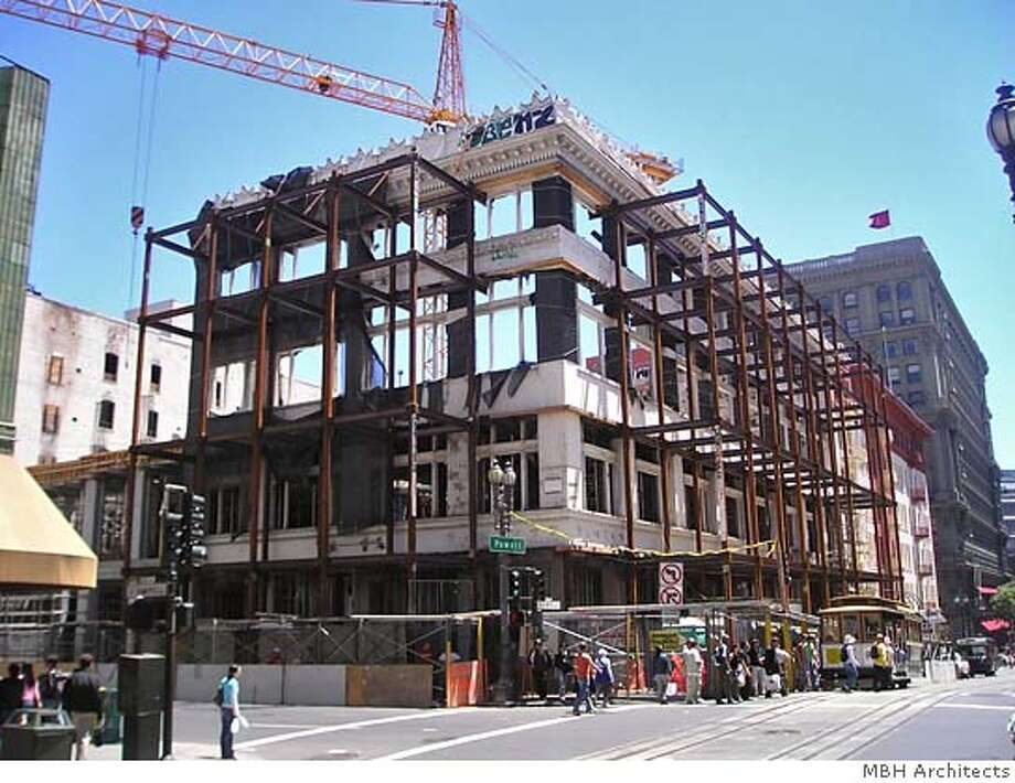 OLYMPUS DIGITAL CAMERA This photo is for John King metro section centerpiece facades19. Photo: Photo Courtesy Of MBH Architects