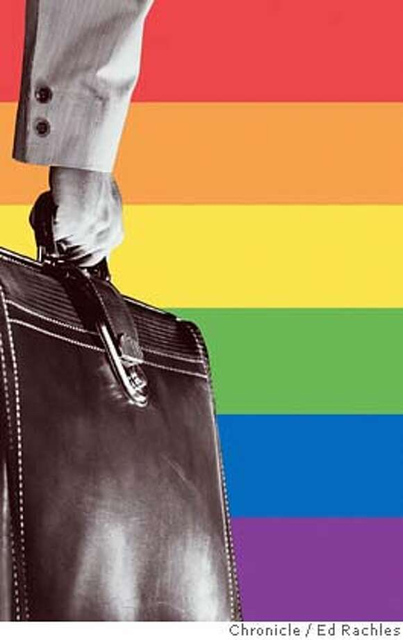 Out at work, and that's OK. Corporations offer greater support for gay, lesbian employees, report finds.