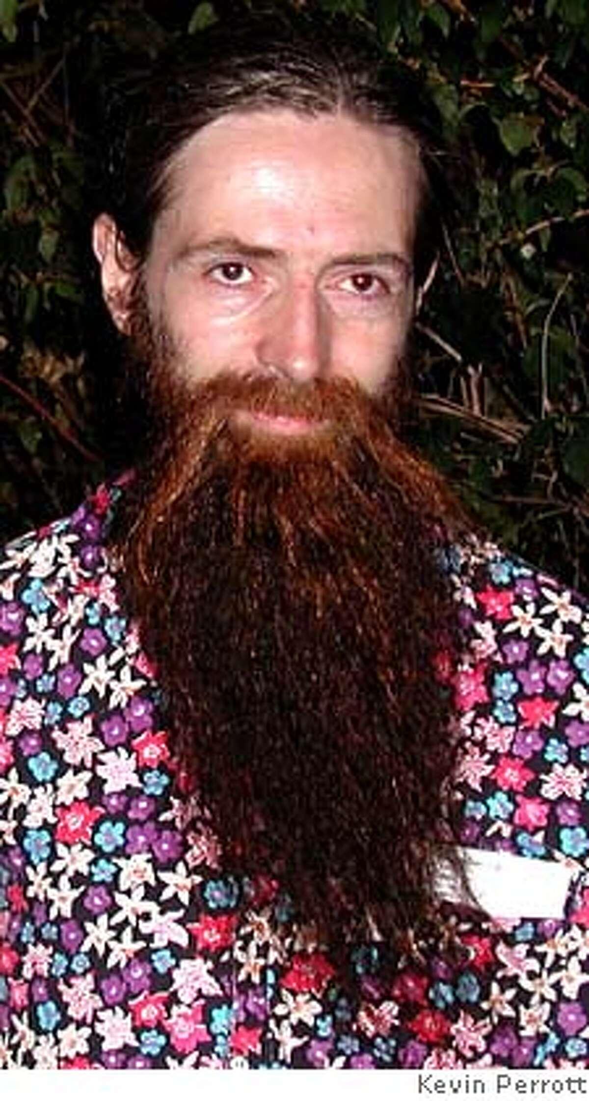 LIVEFOREVER17-- Aubrey de Grey. CREDIT: Kevin Perrott/Handout photo.