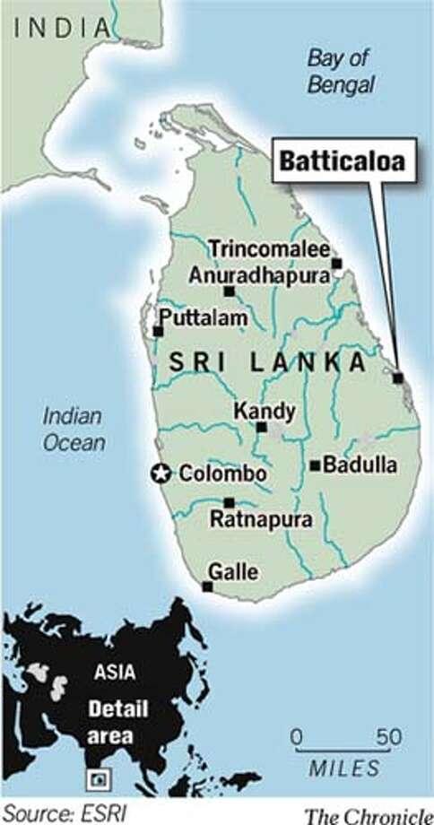 Batticaloa. Chronicle Graphic