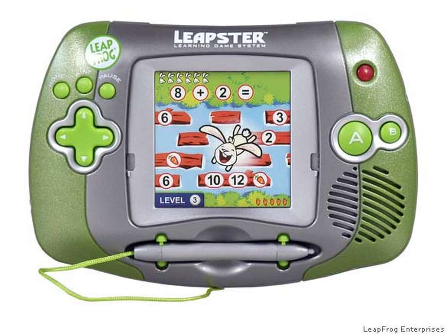 LAZARUS17  The Leapster handheld educational game has become quite popular.  credit LeapFrog Enterprises Photo: LeapFrog Enterprises