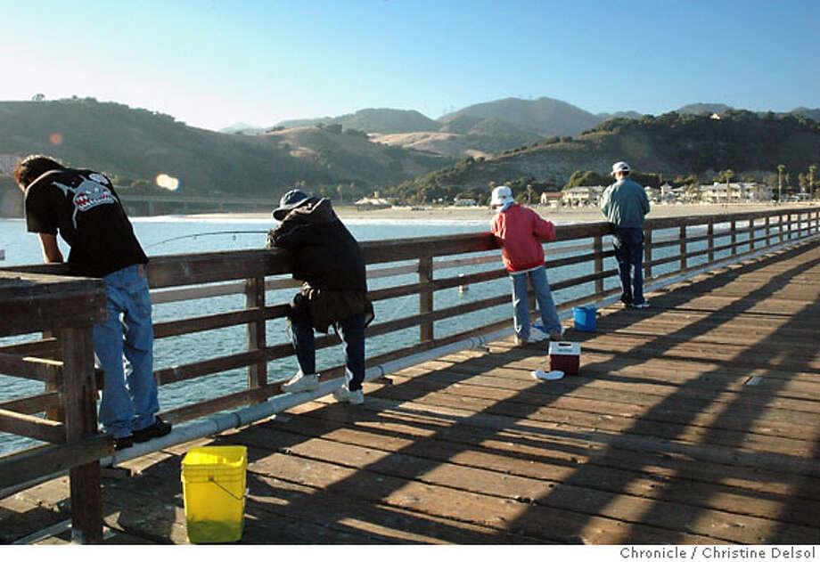 TRAVEL AVILA BEACH -- Avila Beach Pier is one of three piers in San Luis Bay. The waterfront is almost unrecognizable to visitors who knew the sleepy Central Coast beach town before it emerged in 2000 from a massive environmental project to clean up a century of petroleum seepage into the ground under the town. Christine Delsol/The Chronicle Photo: Christine Delsol