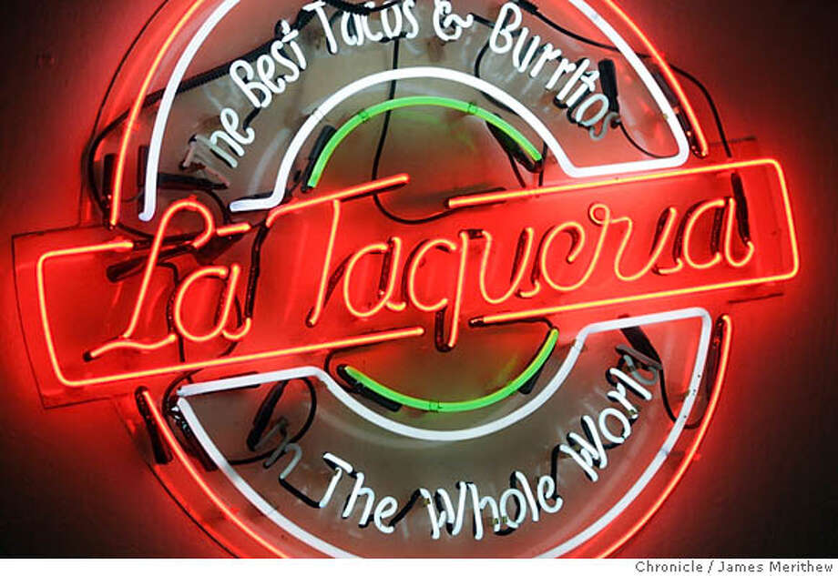 Wealthy people will venture to the Mission's La Taqueria, and its like, in search of authenticity (and good burritos, we presume), but otherwise, they go to places where they'll see their friends (just like us!) and can expect specific comforts, like valet parking. Photo: Jim Merithew