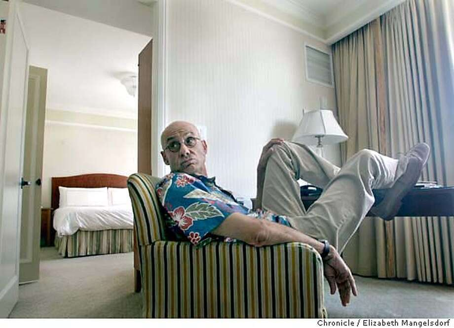 ellroy17__0136_lm.JPG  Crime/mystery writer James Ellroy in San Francisco at the Four Seasons on Aug. 21, 200O  Liz Mangelsdorf /The Chronicle MANDATORY CREDIT FOR PHOTOG AND SF CHRONICLE/ -MAGS OUT Photo: Liz Mangelsdorf