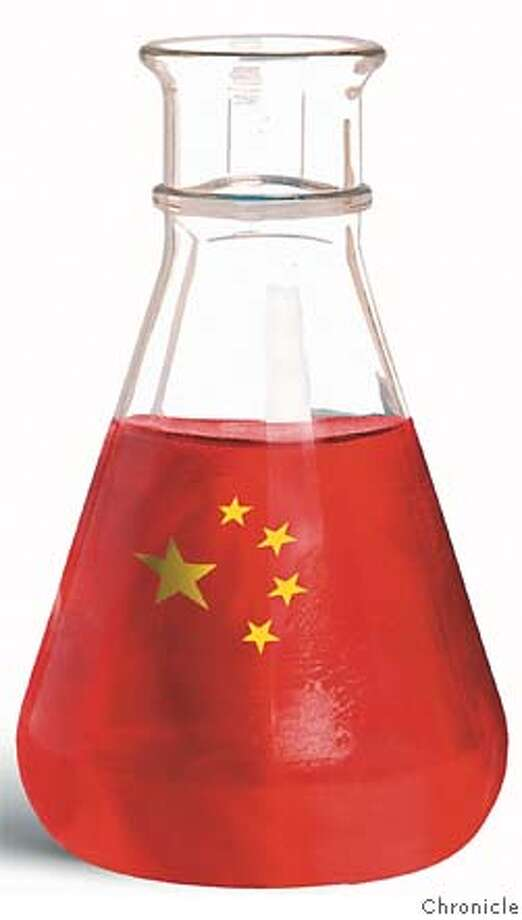 Beijing eyes biotech business. Chronicle Illustration