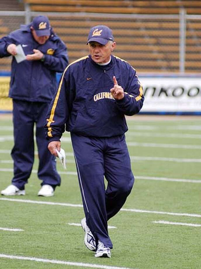 Dan Ferrigno, Cal assistant football coach, starred in football and baseball at Riordan and is a member of the San Francisco Prep Hall of Fame. Photo: Hadnout
