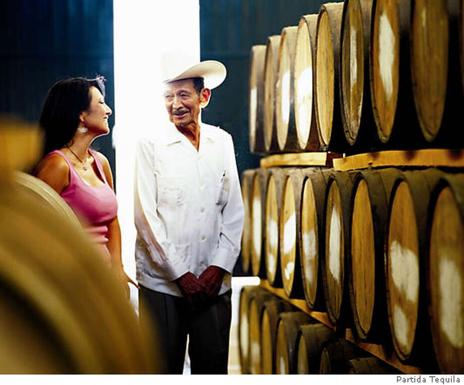 Sofia Partida helped create the Partida brand using 5,000 acres of blue agave plants farmed by her uncle Enrique, 82. Photo courtesy of Partida Tequila