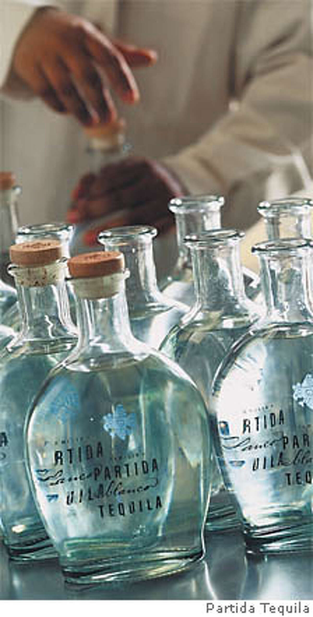 Bottles of Partida Tequila. Photo courtesy of Partida Tequila