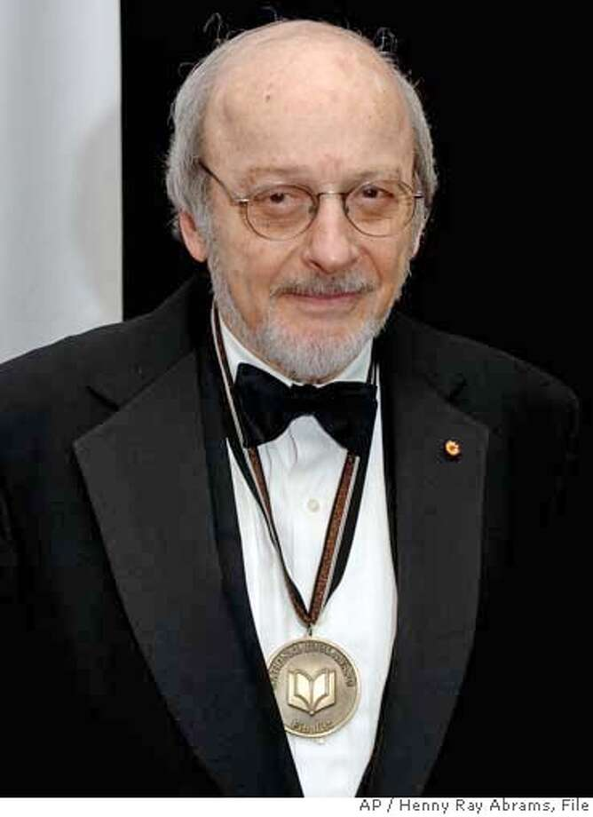 """**FILE**National Book Award finalist E.L.Doctorow poses for photos before the award ceremonies in New York, on November 16, 2005. Doctorow's """"The March,"""" won the PEN/Faulkner award for fiction, the PEN/Faulkner foundation announced Tuesday, Feb. 21, 2006.(AP Photo/Henny Ray Abrams)Ran on: 03-04-2006  Francine du Plessix GrayRan on: 03-04-2006  Francine du Plessix Gray A NOV 16 2005 FILE PHOTO Photo: HENNY RAY ABRAMS"""