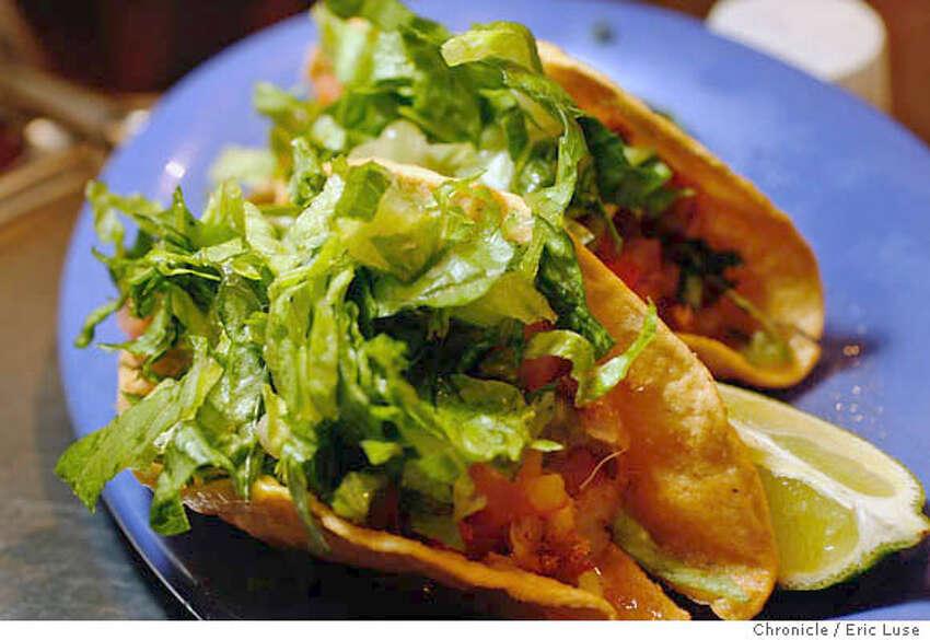 taqueria13_cactus_300_el.jpg Crispy carne asada tacos at Cactus Taqueria at 1881 Solano Ave. Berkeley Eric Luse/The Chronicle Names (cq) from source MANDATORY CREDIT FOR PHOTOG /