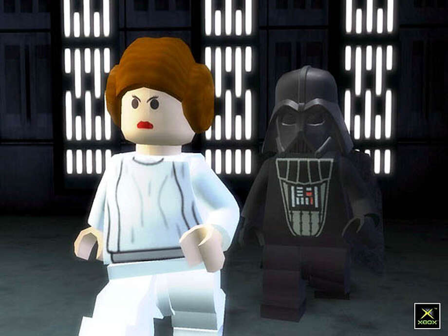 Screen shots from Lego Star Wars II: The Original Trilogy video games for Hartlaub review Photo: HO