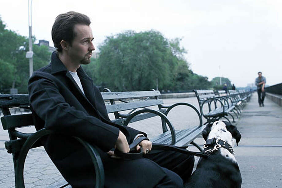 "Edward Norton in ""25th Hour."" Photo courtesy of Touchstone Pictures"