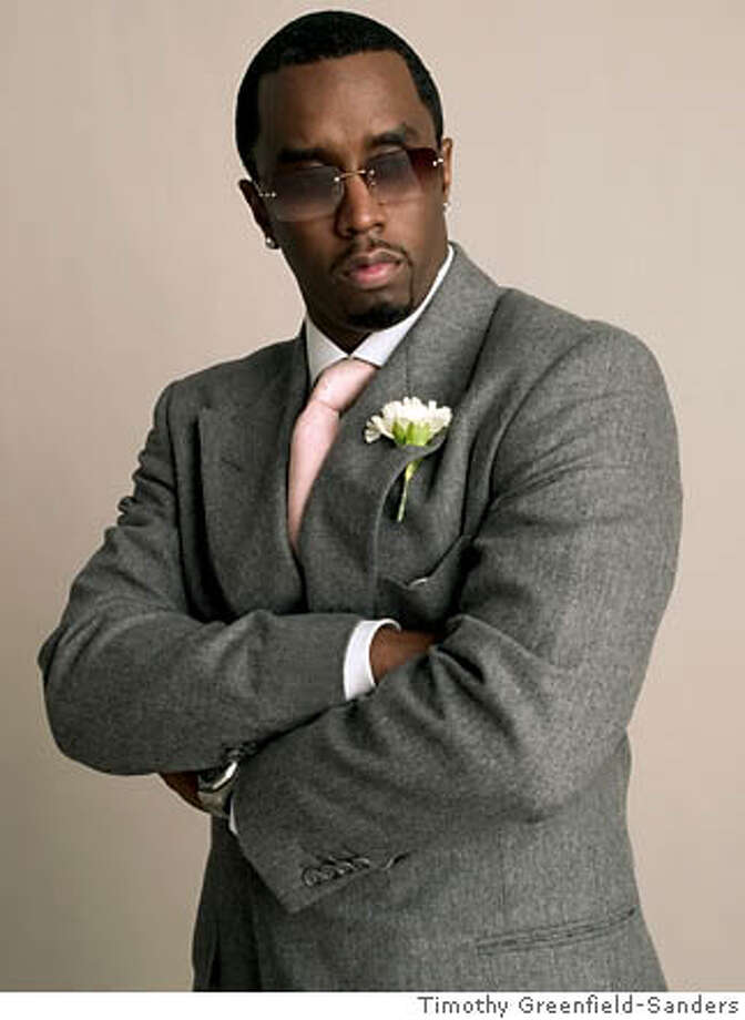Photo of Sean Combs Credit: Courtesy of Timothy Greenfield-Sanders Photo: Courtesy Of Timothy Greenfield-S