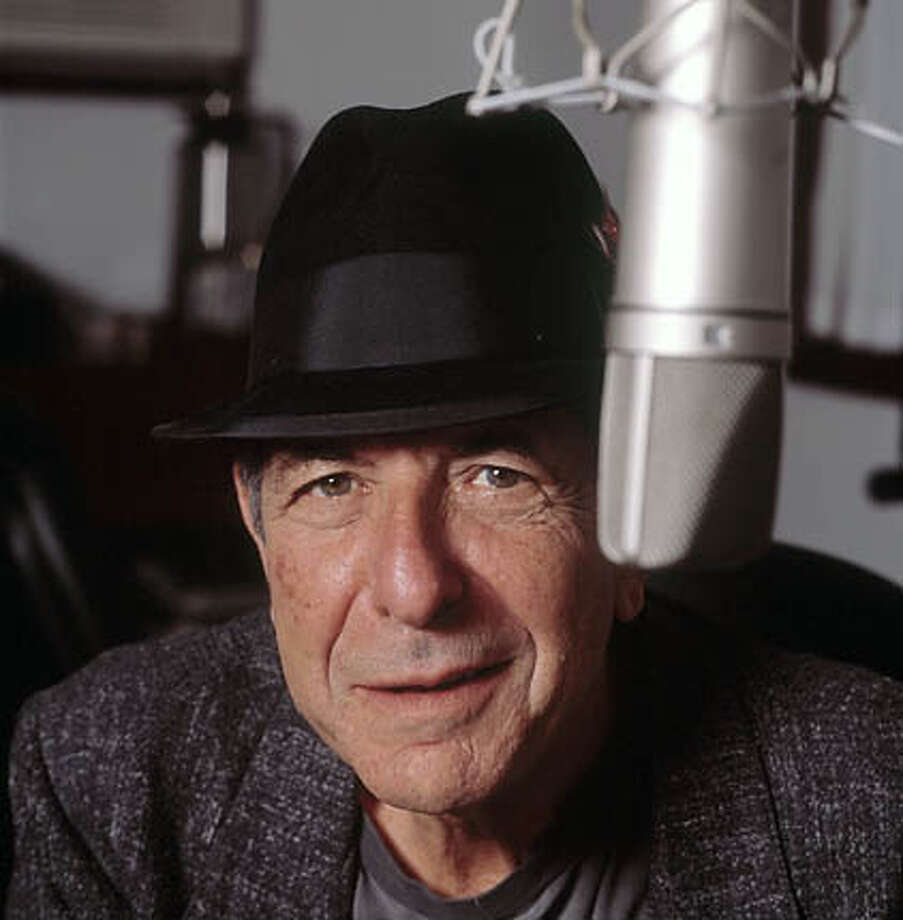 Leonard Cohen. Photo, 2001, by Matt Brown, for the Chronicle