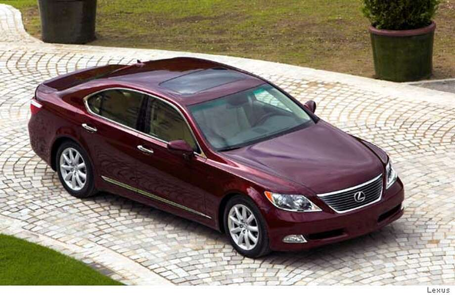 A fully optioned LS 460 boasts an eight-speed automatic transmission and 11 air bags. Illustrates LEXUS-LS460 (category l) by Dan Neil (c) 2006, Los Angeles Times. Moved Friday, Sept. 1, 2006. (MUST CREDIT: Photo courtesy of Lexus).  Ran on: 09-10-2006 Ran on: 09-10-2006 Photo: COURTESY OF LEXUS