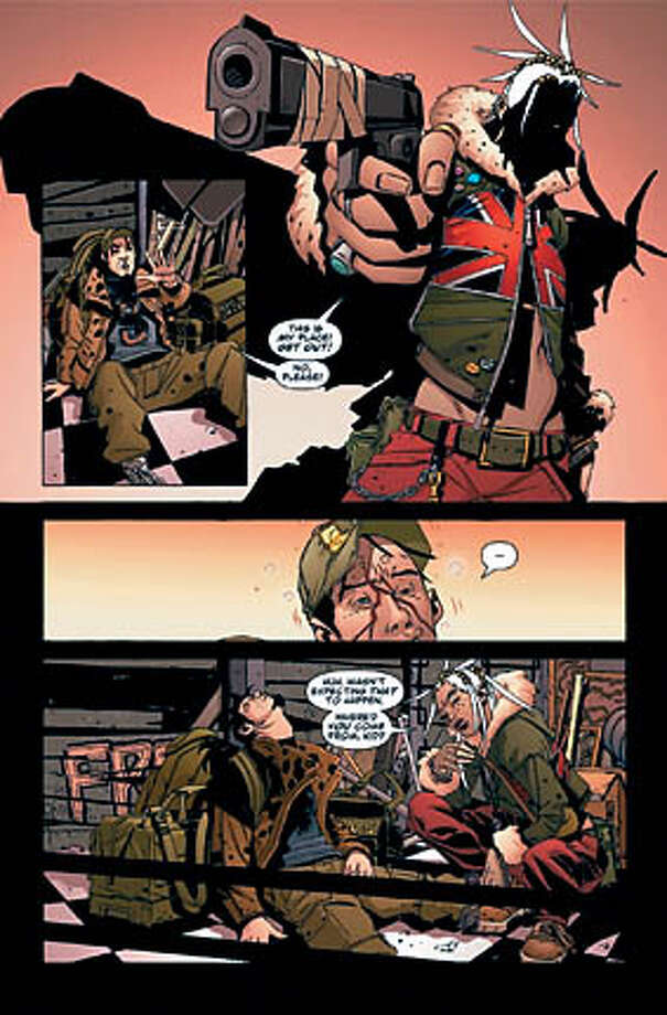 dmz  Copyright Brian Wood and Riccardo Burchielli 2006. Photo: X