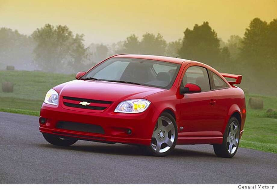 The 2007 Chevrolet Cobalt SS is the top-line version of the Cobalt, a compact, front-engine, front-wheel-drive economy car that replaces the Chevrolet Cavalier. Illustrates WHEELS-COBALT (category l), by Warren Brown � 2006, The Washington Post. Moved Friday, Sept. 1, 2006. (MUST CREDIT: General Motors.)  Ran on: 09-09-2006 Ran on: 09-09-2006 Ran on: 09-09-2006 Ran on: 09-09-2006 Photo: HANDOUT