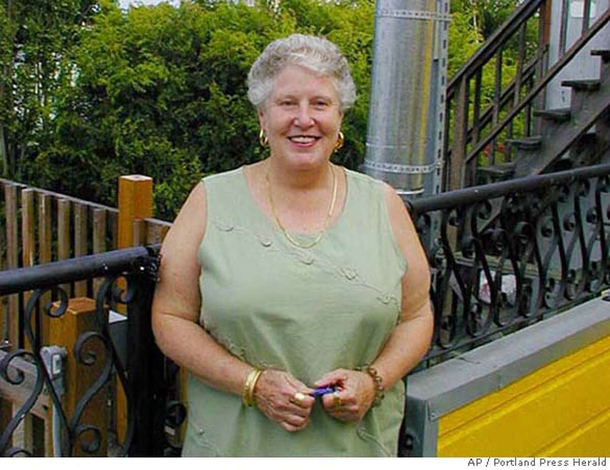 This undated photo provided by the Portland Press Herald shows Julie Bullard, owner of the Black Bear Bed & Breakfast in Newry, Maine, who was one of four victims of a multiple murder over the 2006 Labor Day weekend. Christian Nielsen, a 31-year-old cook who rented a room at the B&B, has been charged with the murders. (AP Photo/Handout via the Portland Press Herald) ** ** UNDATED PHOTO,
