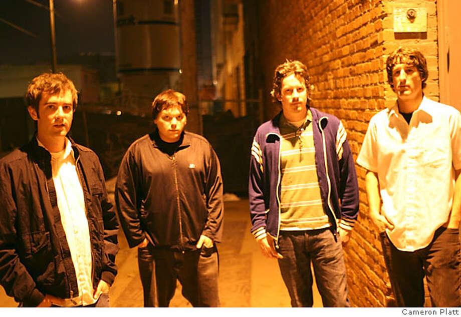 Anaura is (ltor) Dean Faustman, Josh Manion, Alex Hillmer, Thad Baker. Credit: Cameron Platt Photo: Cameron Platt